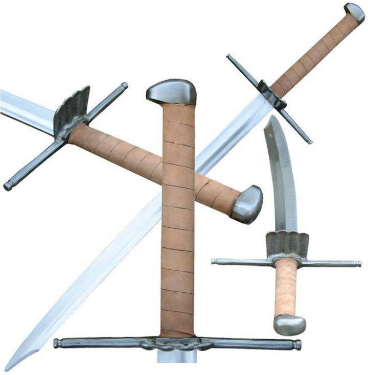 2 hand zwaard 15e eeuws