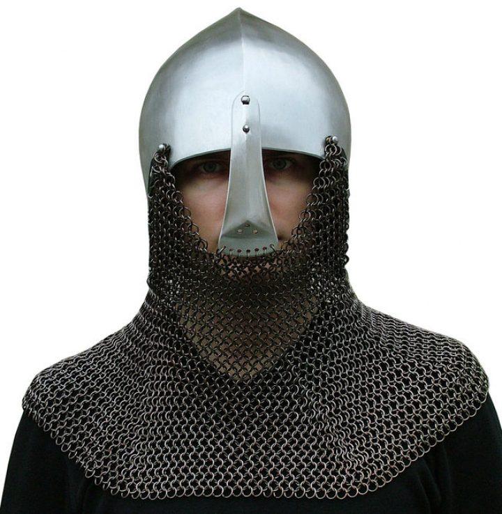 Duitse Beckenhaube 14-15e eeuws