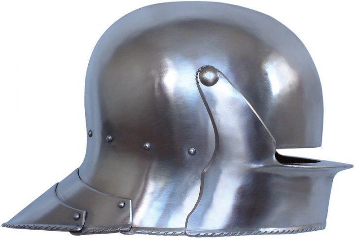 Sallet Helm Luxe 15e eeuws