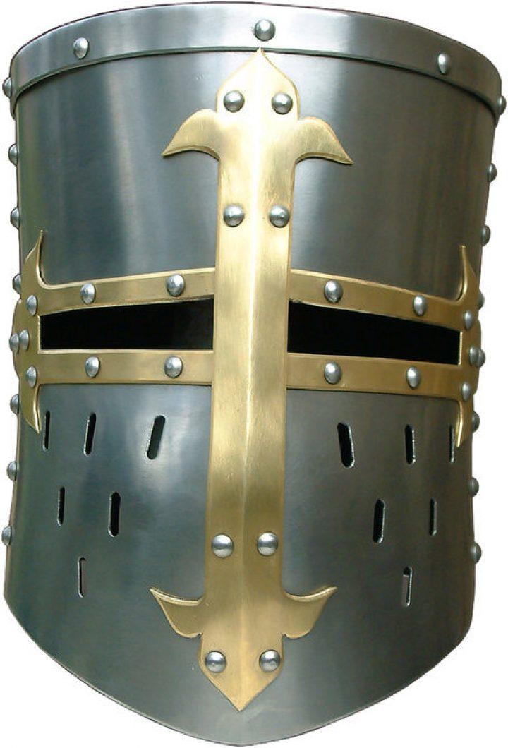 Franse Kruisvaarders helm