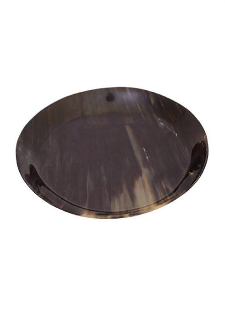 Hoornen bord 20 cm
