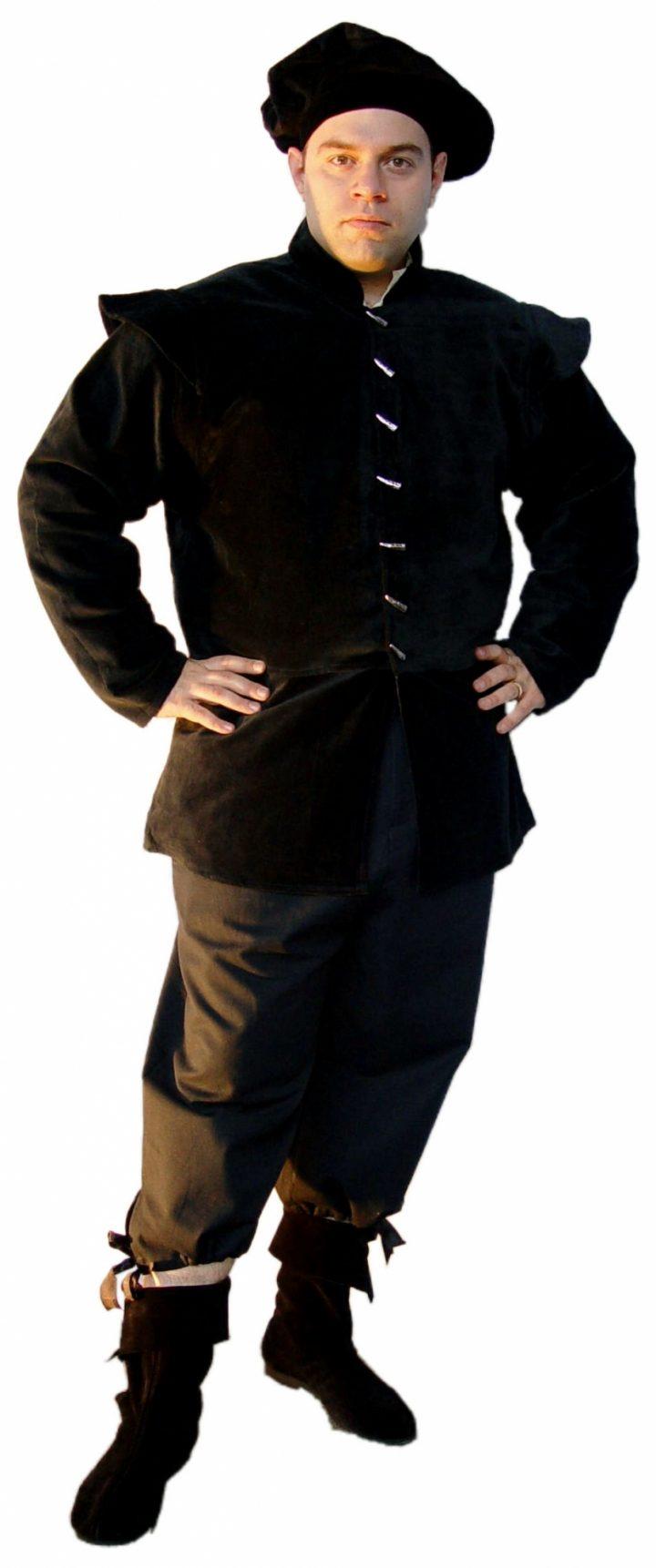Middeleeuwse Heren Jack Zwart