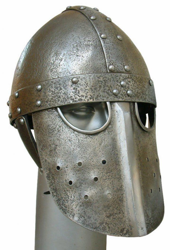 Normannenhelm mit gesichtsmaske