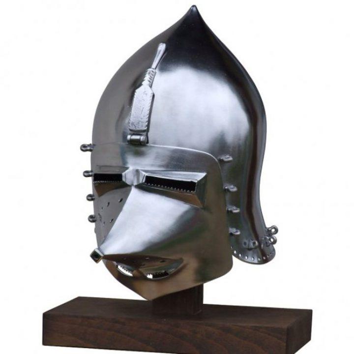 Duitse Varkenssnuit Helm 14 - 15e eeuws