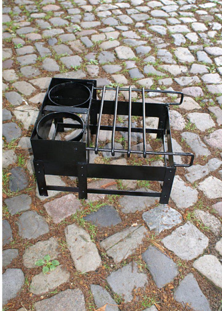 Römischer Craticula, römisches Kochgestell