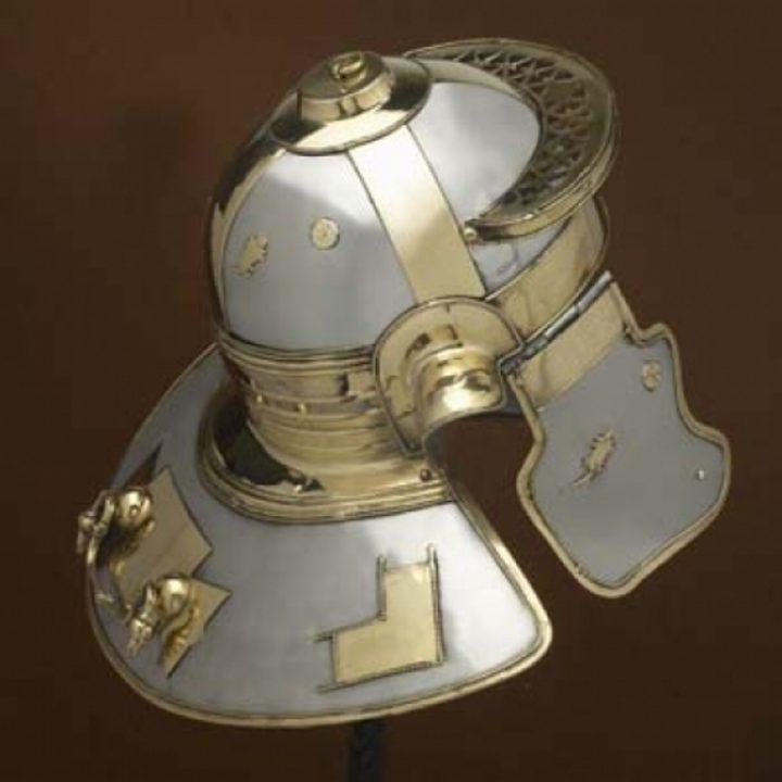 Nieder Mormter italic `H` Helm