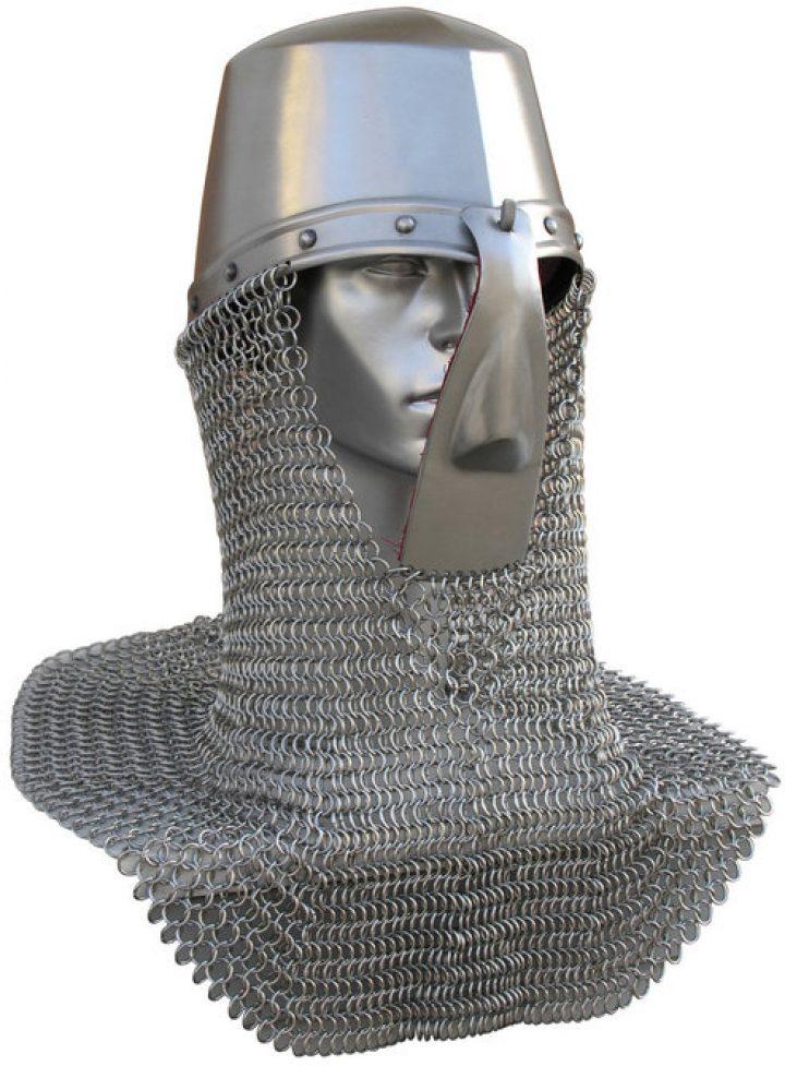 Noorman Helm met Maliën rond 1450