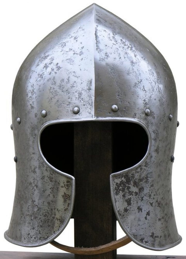 Italiaanse Barbuta Helm 15e eeuws