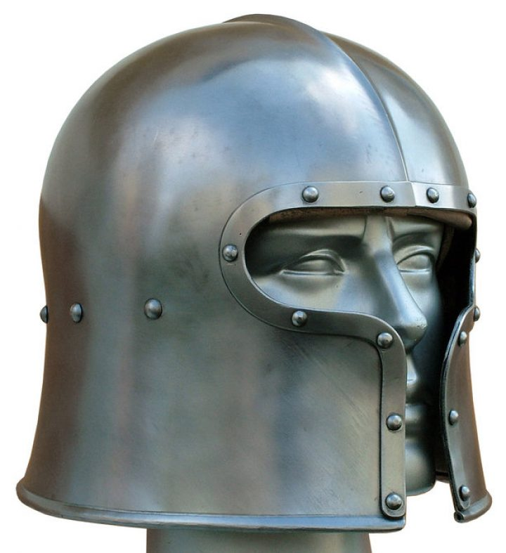 Barbuta Helm 15e eeuws