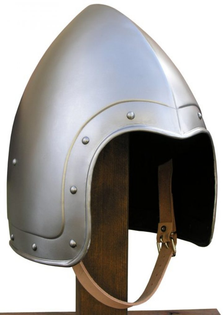 Bascinet Helm 14-15e eeuws