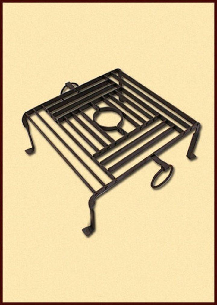 Römischer Grill, Craticula, handgeschmiedet