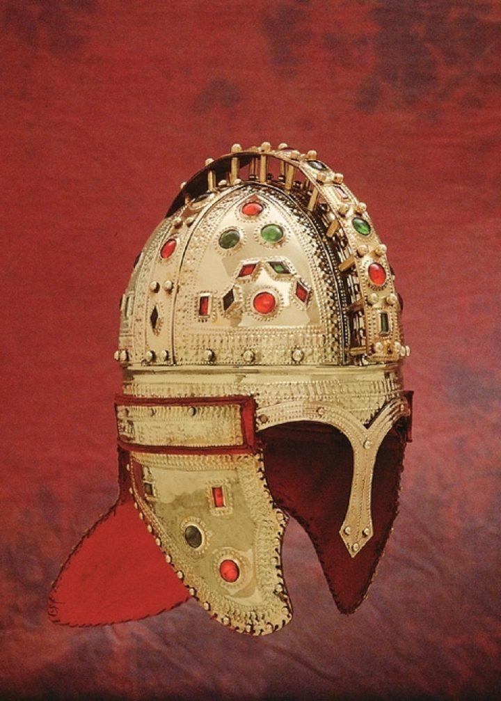 Romeinse Officiers Jewel Helm