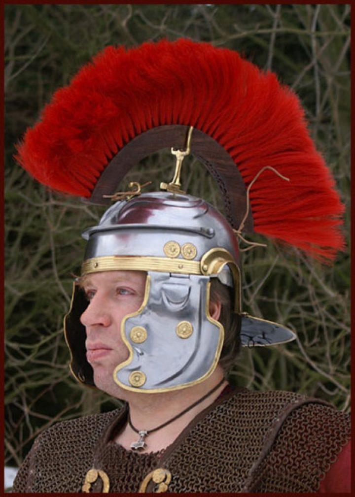 Romeinse Imperial Gallic 'G' (Weisenau) Helm