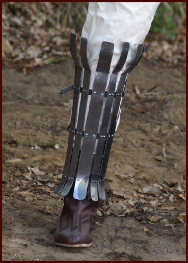 Wikinger Beinschiene Metal (Einzeln)