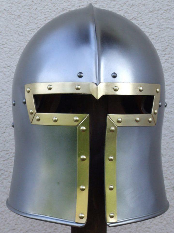 Barbuta Helm 15e eeuws