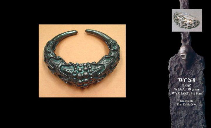 Viking bracelet, Fyn, Denmark, 10th c. WC268B