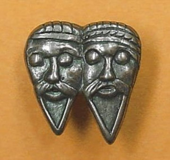 Wikinger Belt fitting, Truso, Poland, 10th c. WC376B