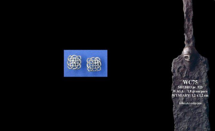 Celtic earrings WC075