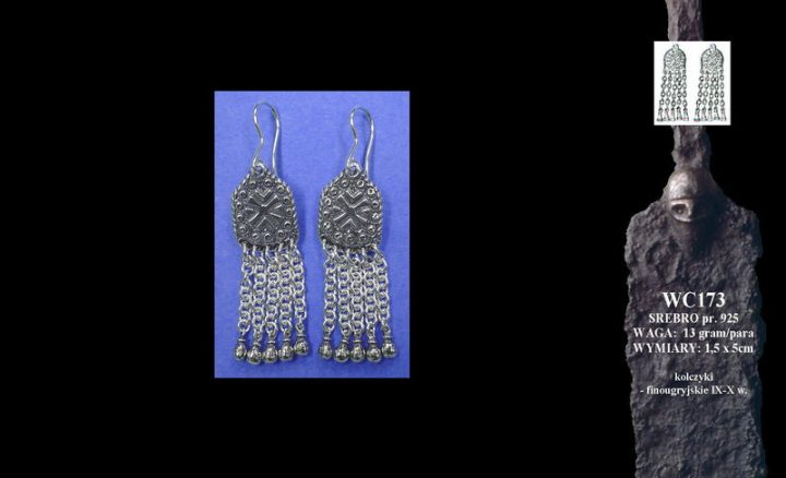 Finougrian earrings, 9th-10th c. WC173