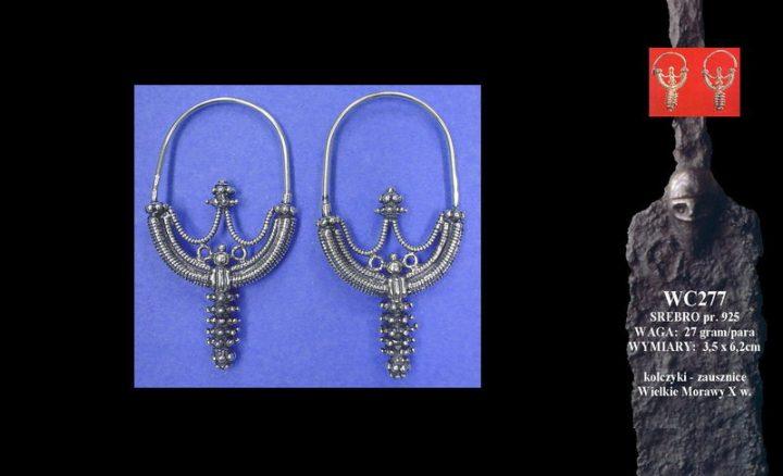 Earrings, Great Moravia, 10th c. WC277