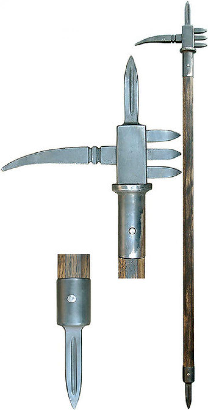 Zweihändiger Streithammer 195 cm