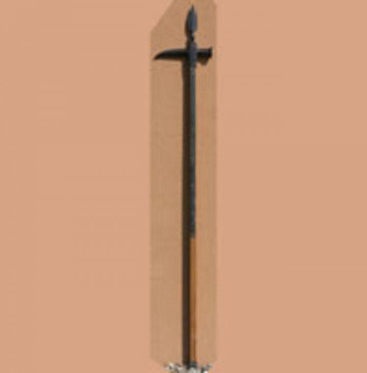 Strijdhamer 15e eeuws Italiaans 195 cm