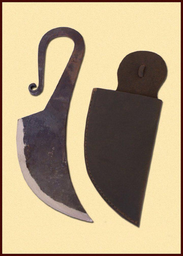 Middeleeuws Gebruiksmes met Schede