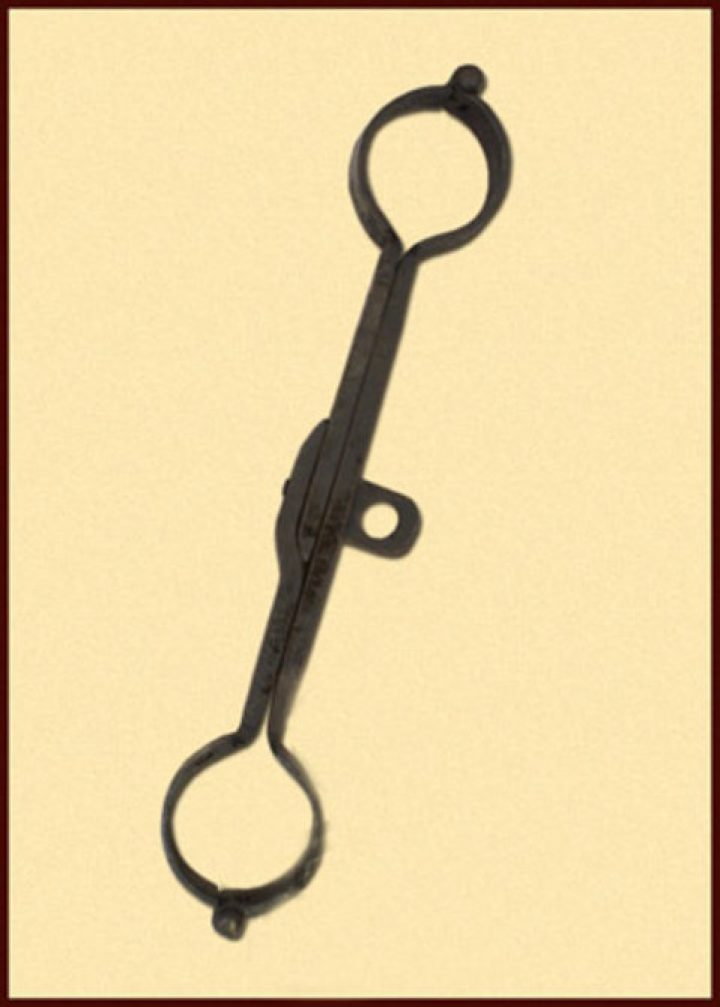 Mittelalterliche Handschellen DHBMULF-CP-33