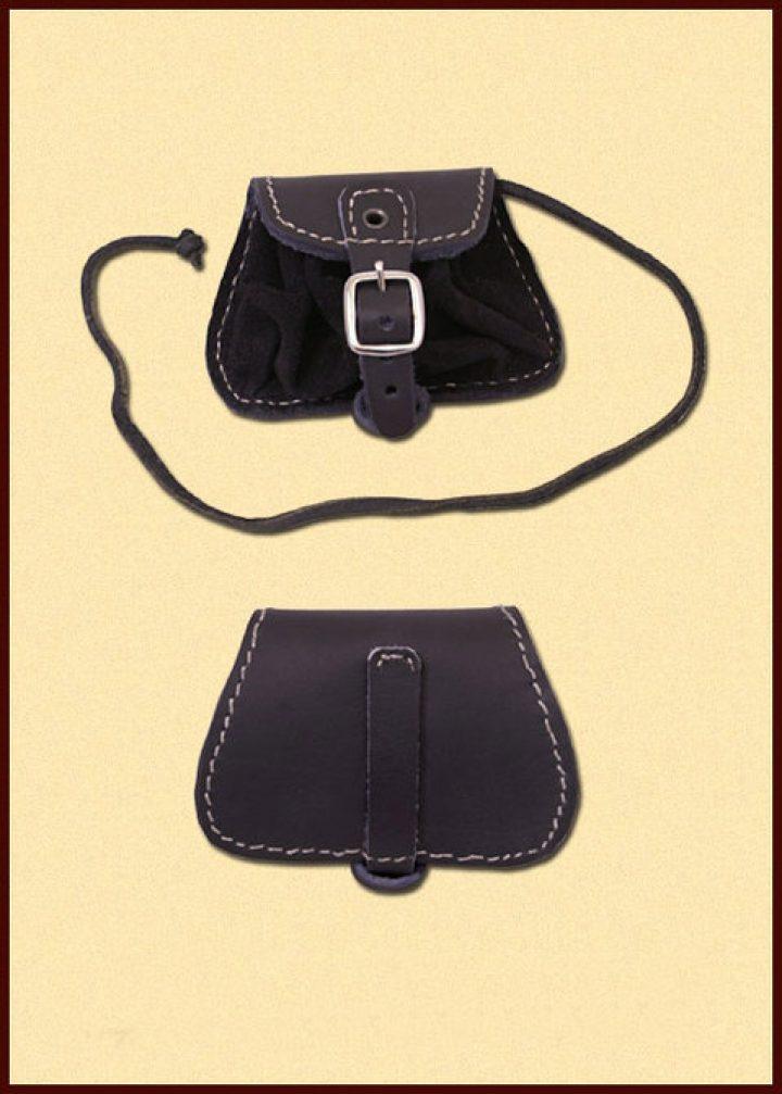 Mittelalter Tasche Schwartz