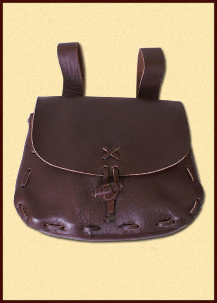 Mittelalter Tasche Dunkel Braun