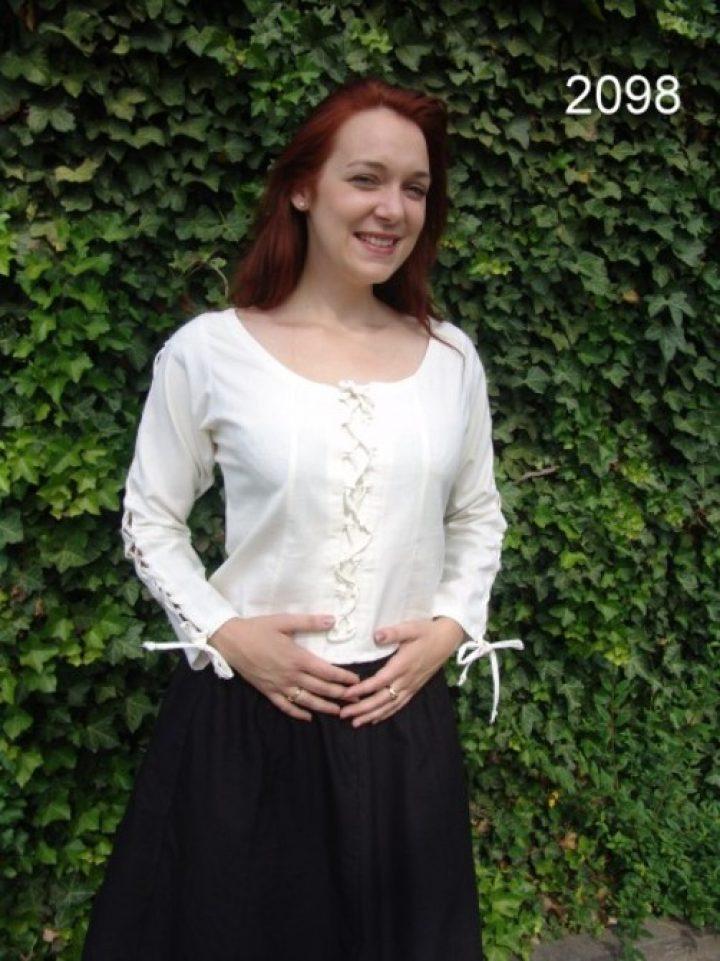 Mittelalter Damen Blouse