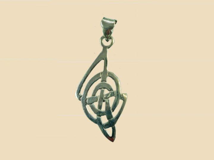 Keltische Hanger Zilver