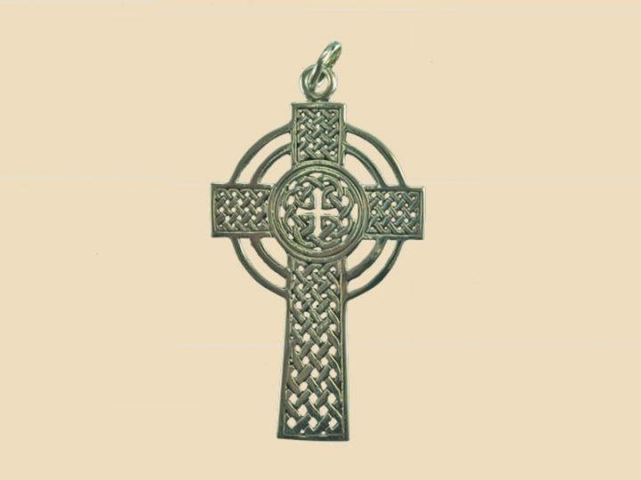 Keltisch Kruis Hanger Zilver