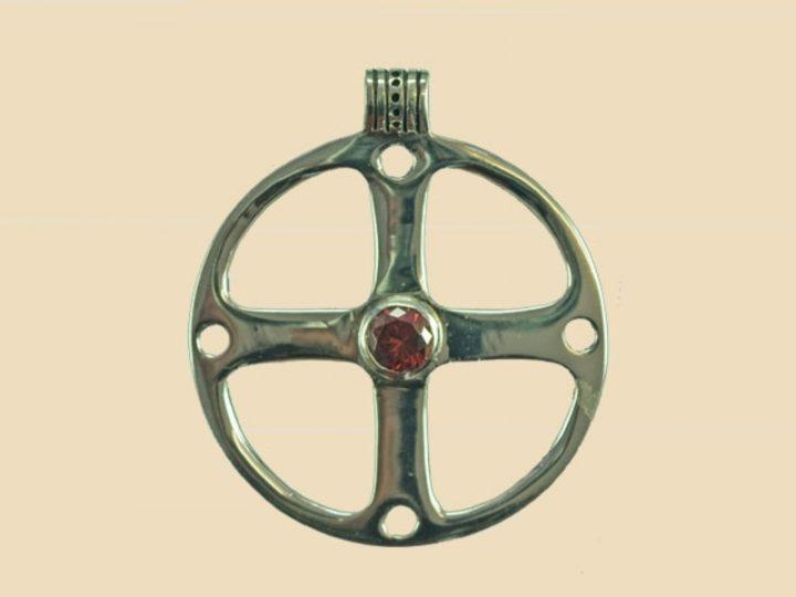 Keltisches Rad Anhanger Silber VCCP-52