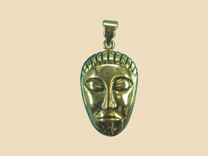 Keltische God Hanger Brons