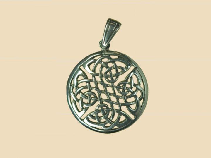 Keltische Knoop Hanger Zilver