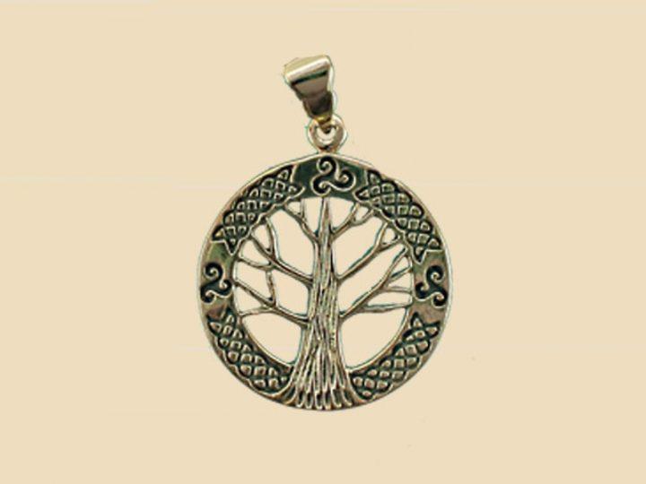 Keltischer Lebensbaum Anhanger Bronze VCCP-53