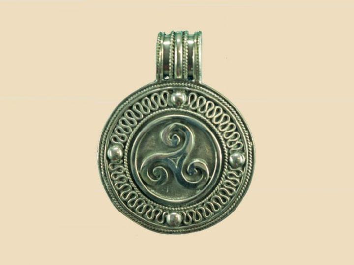 Keltische Triskel Hanger Zilver