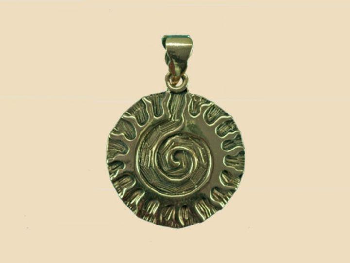 Keltische Zonnegod Hanger Brons