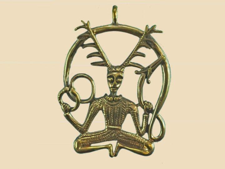 Keltische God van de Dieren en het Bos Brons