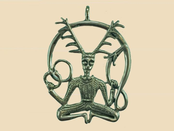 Keltsiche God van de Dieren en het Bos Zilver