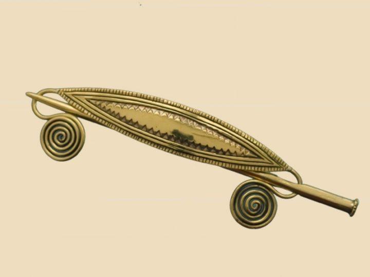 Haarspeld Germaans Replica Brons