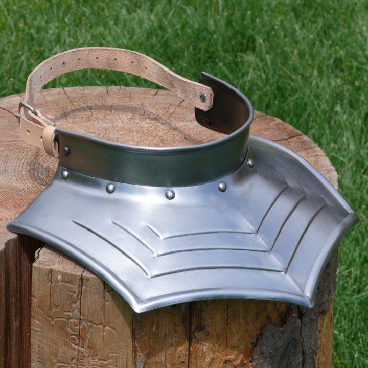 Kragen aus Stahl, verziert, hvbis-6001