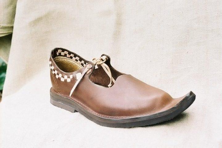 Middeleeuwse Dames Schoenen