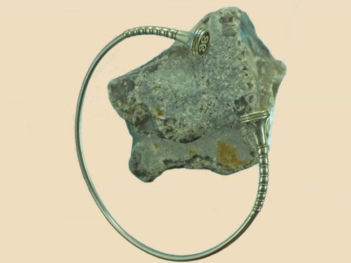 Keltischer Torque Silber