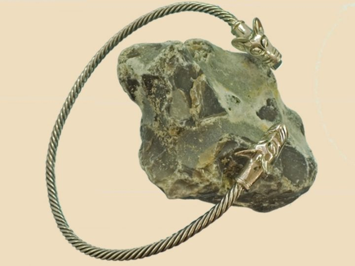 Viking Halsband Zilver