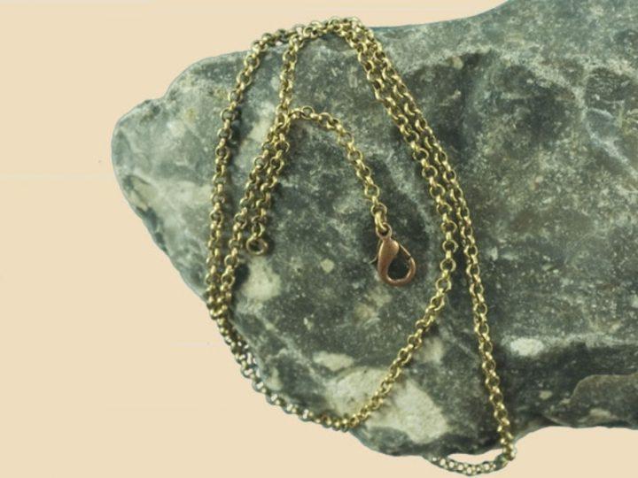 Wikinger Kette 45 cm Bronze
