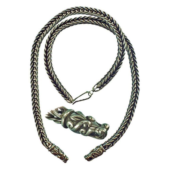 Viking Ketting 65 cm Zilver