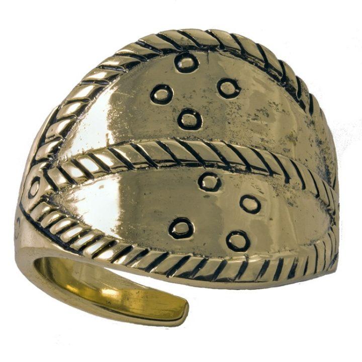 Replica Viking Ring Brons klein