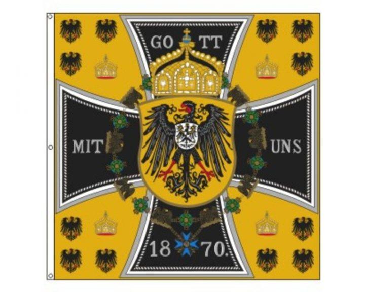 Historische Duitse Vlag 110x110 FP-2827
